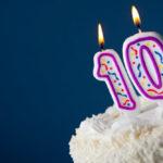10 cumpleaños