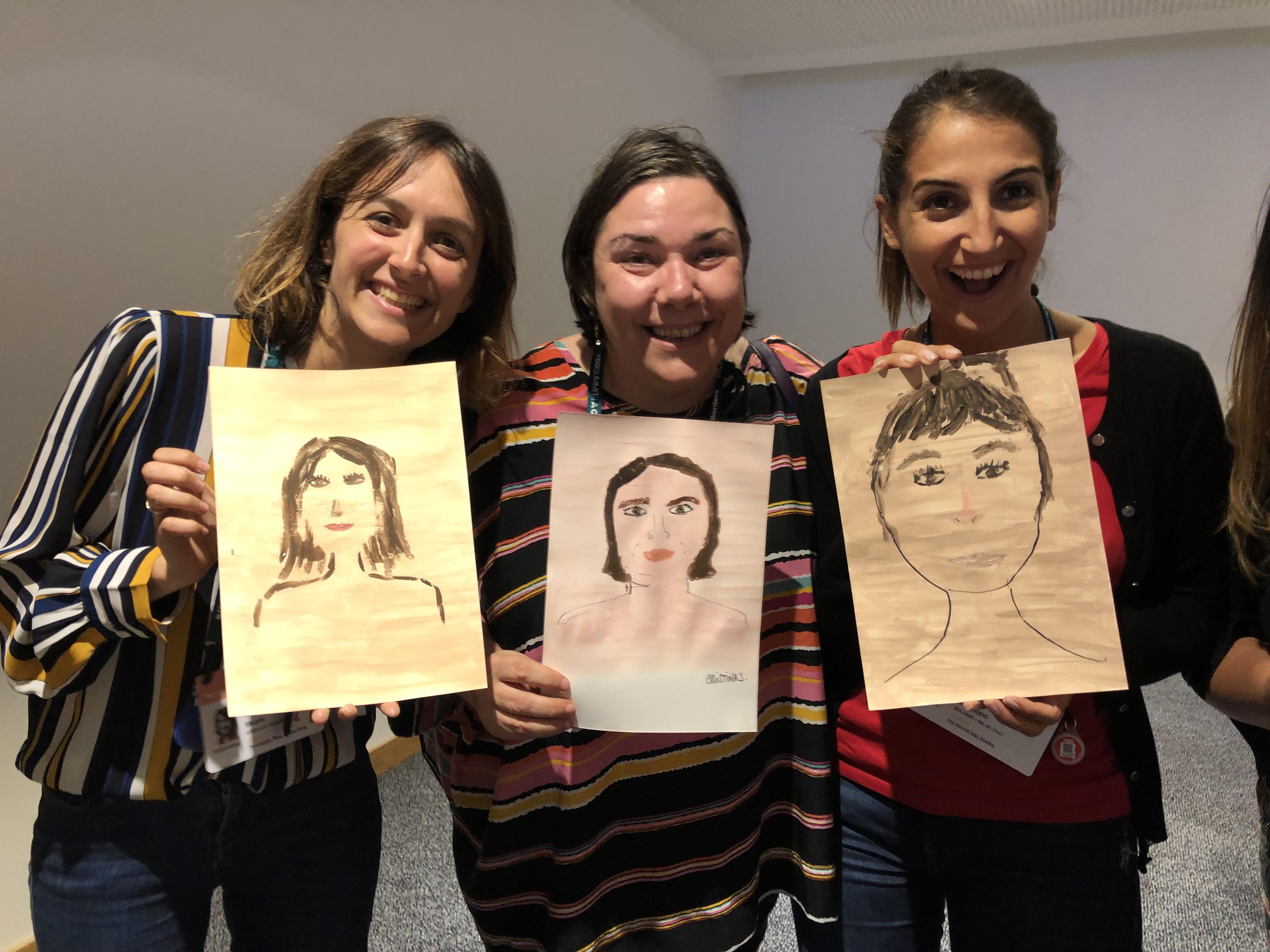 Taller de Angélica Dass en TEDSummit Edinburgh 2019